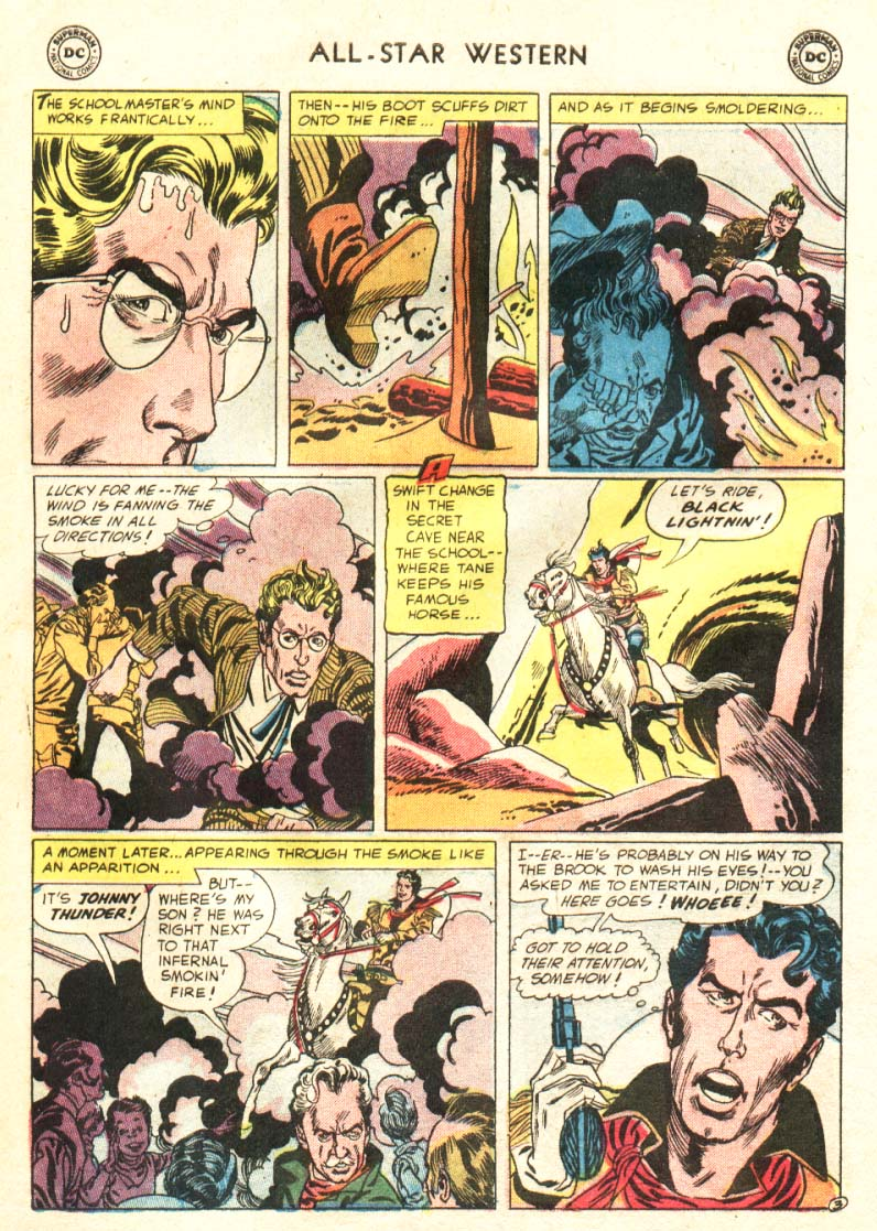 Read online All-Star Western (1951) comic -  Issue #91 - 22