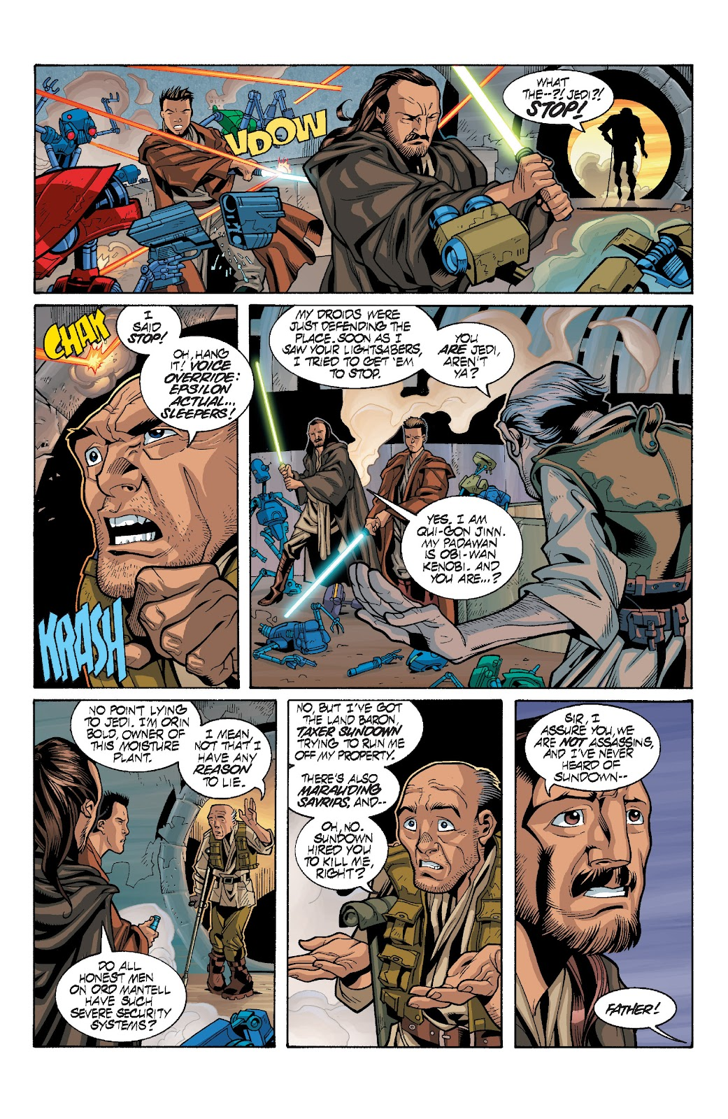Read online Star Wars Legends: Rise of the Sith - Epic Collection comic -  Issue # TPB 1 (Part 3) - 100