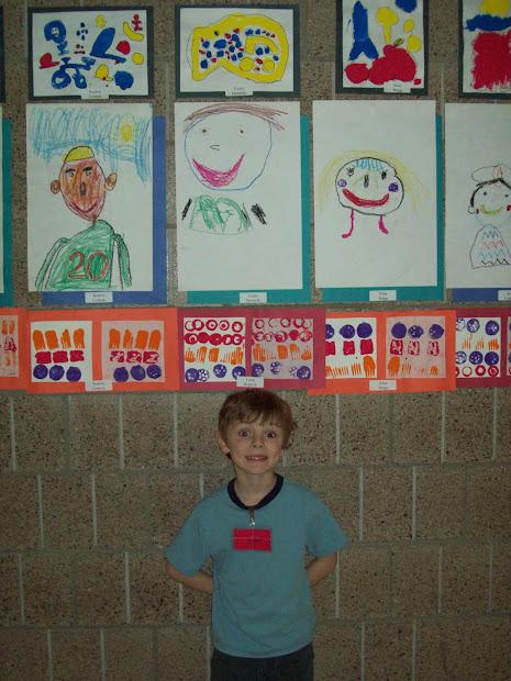 Kapsner' Kindergarten Class Art