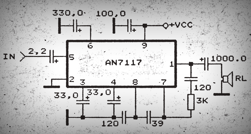 Schematic power amplifier with ic an7117 wiring info schematic power amplifier with ic an7117 diy circuit rh avecircuits blogspot com power amplifier ic for alarm system bose amplifier schematic diagram publicscrutiny Images