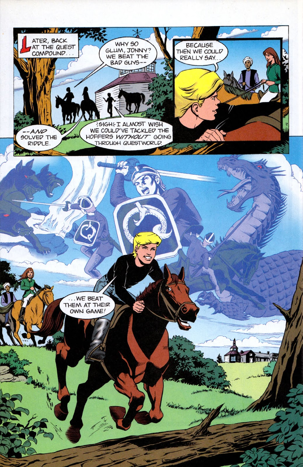 Read online The Real Adventures of Jonny Quest comic -  Issue #8 - 30