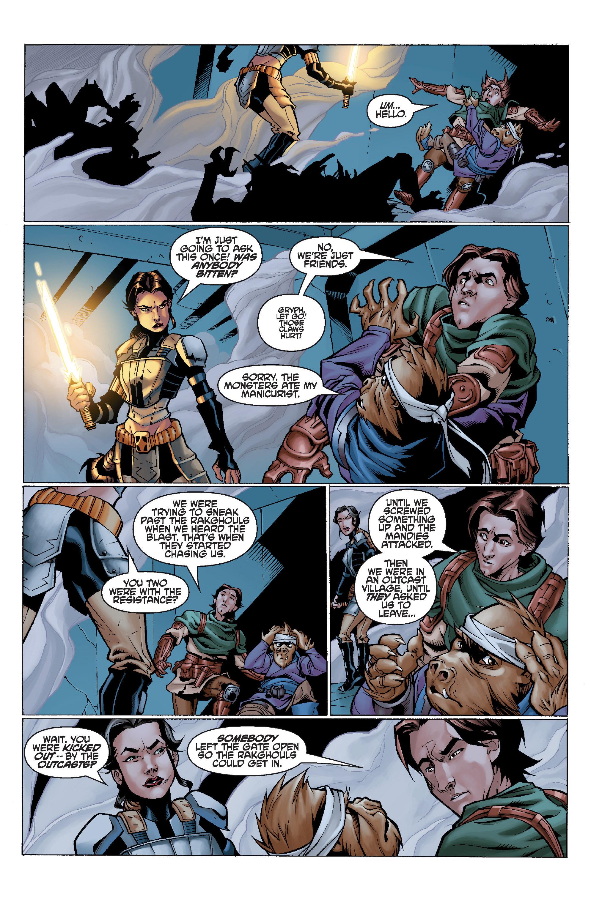 Read online Star Wars Omnibus comic -  Issue # Vol. 32 - 157