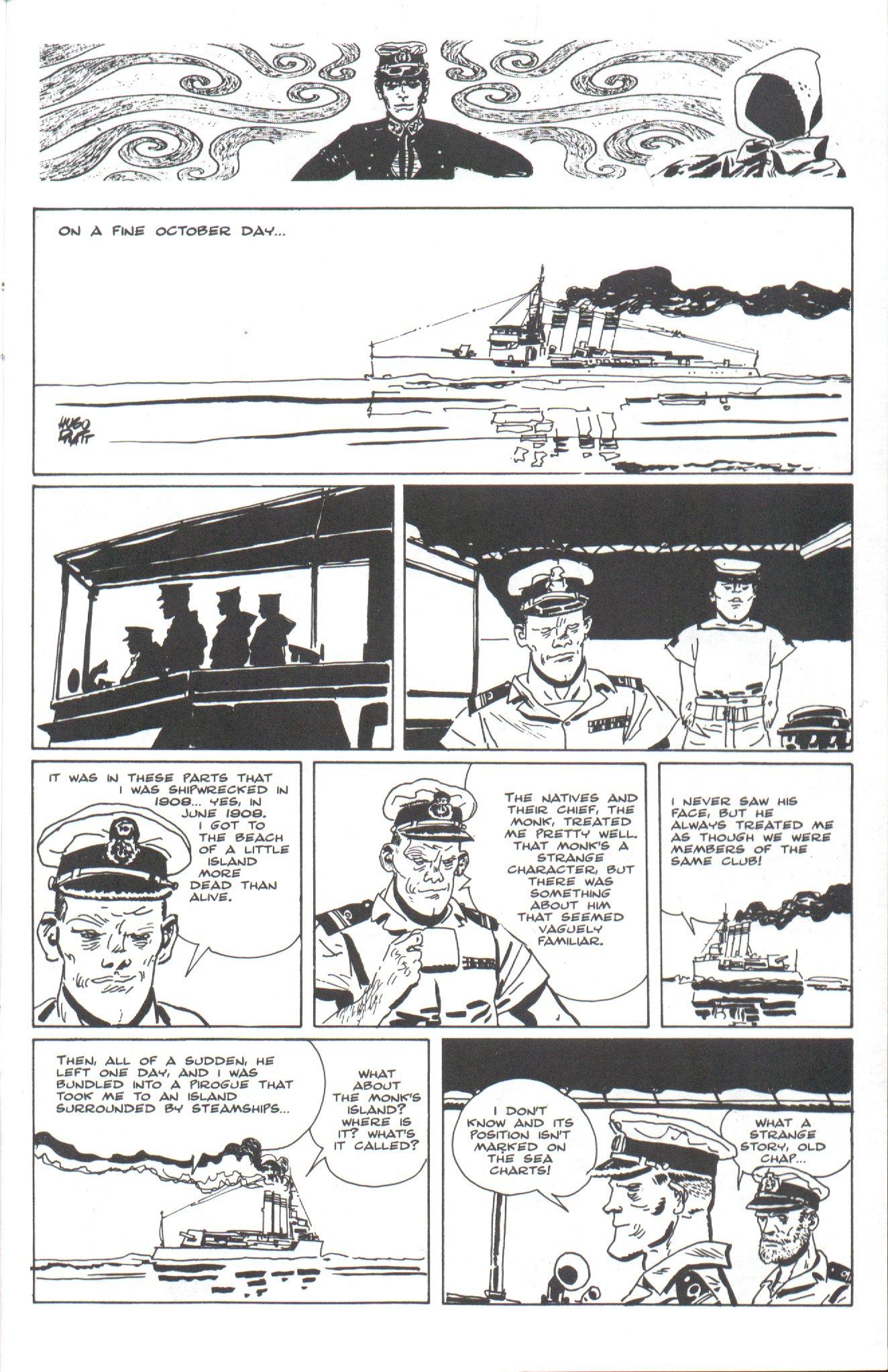 Read online Corto Maltese: Ballad of the Salt Sea comic -  Issue #4 - 21