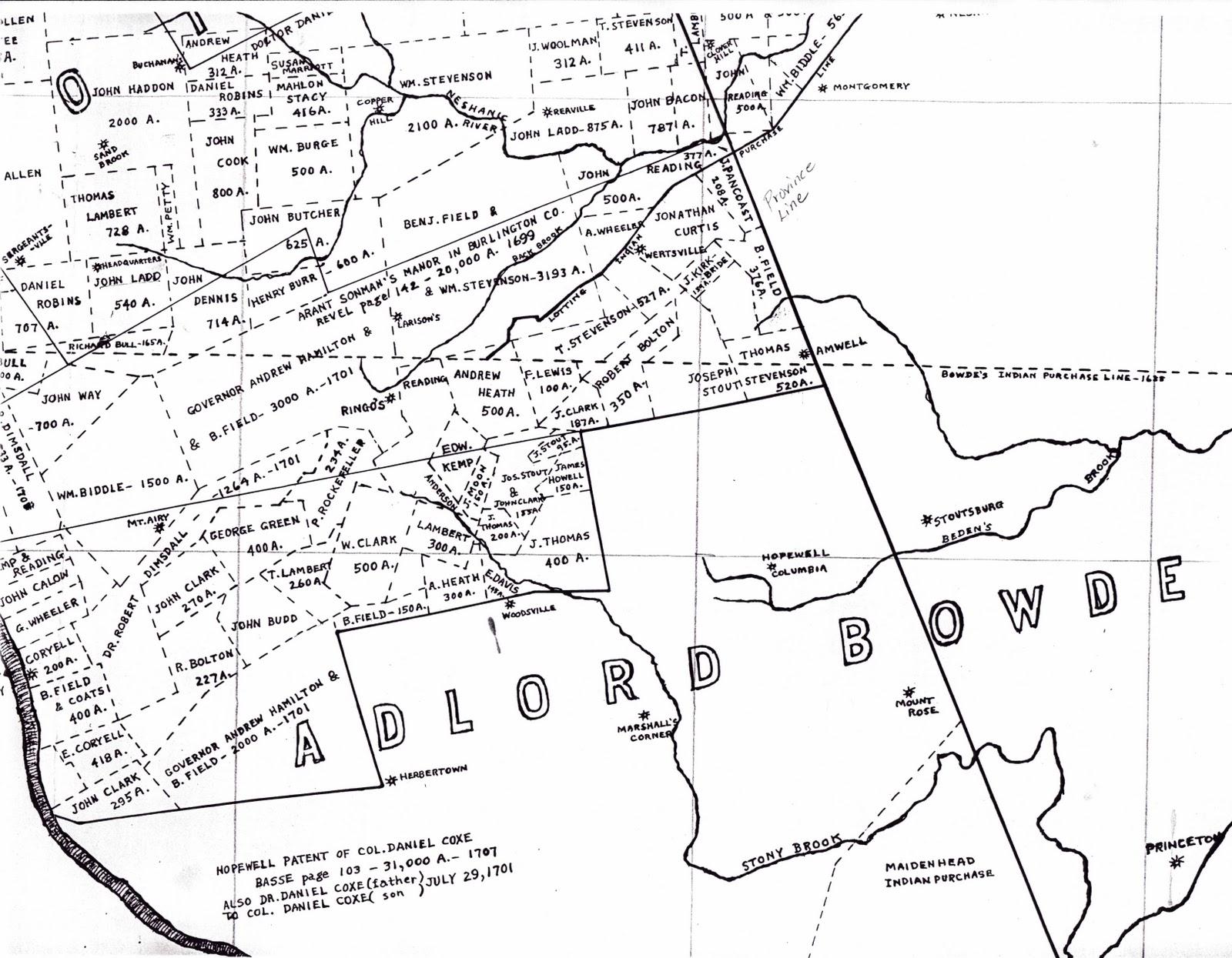 West Nj And Daniel Coxe Part 1 Goodspeed Histories