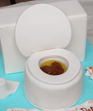 The Cake Shop Toilet Cake