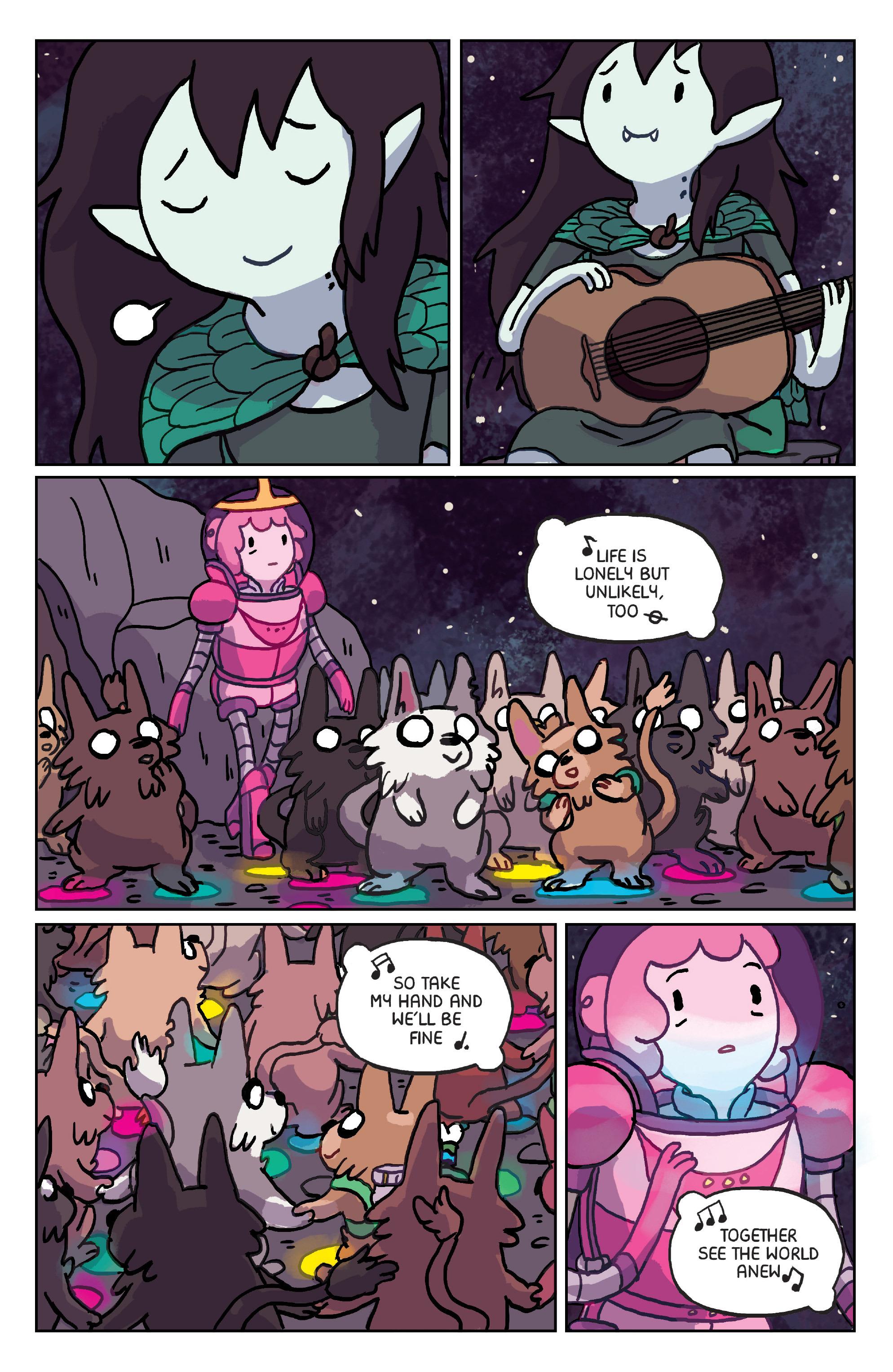 Read online Adventure Time: Marceline Gone Adrift comic -  Issue #6 - 8