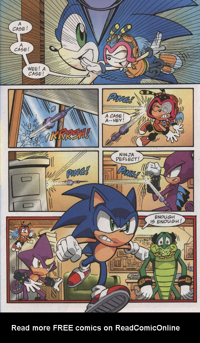 Read online Sonic X comic -  Issue #38 - 29