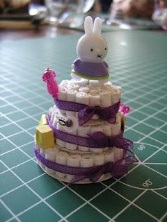 Miniatuur poppenhuizen luiertaart 5