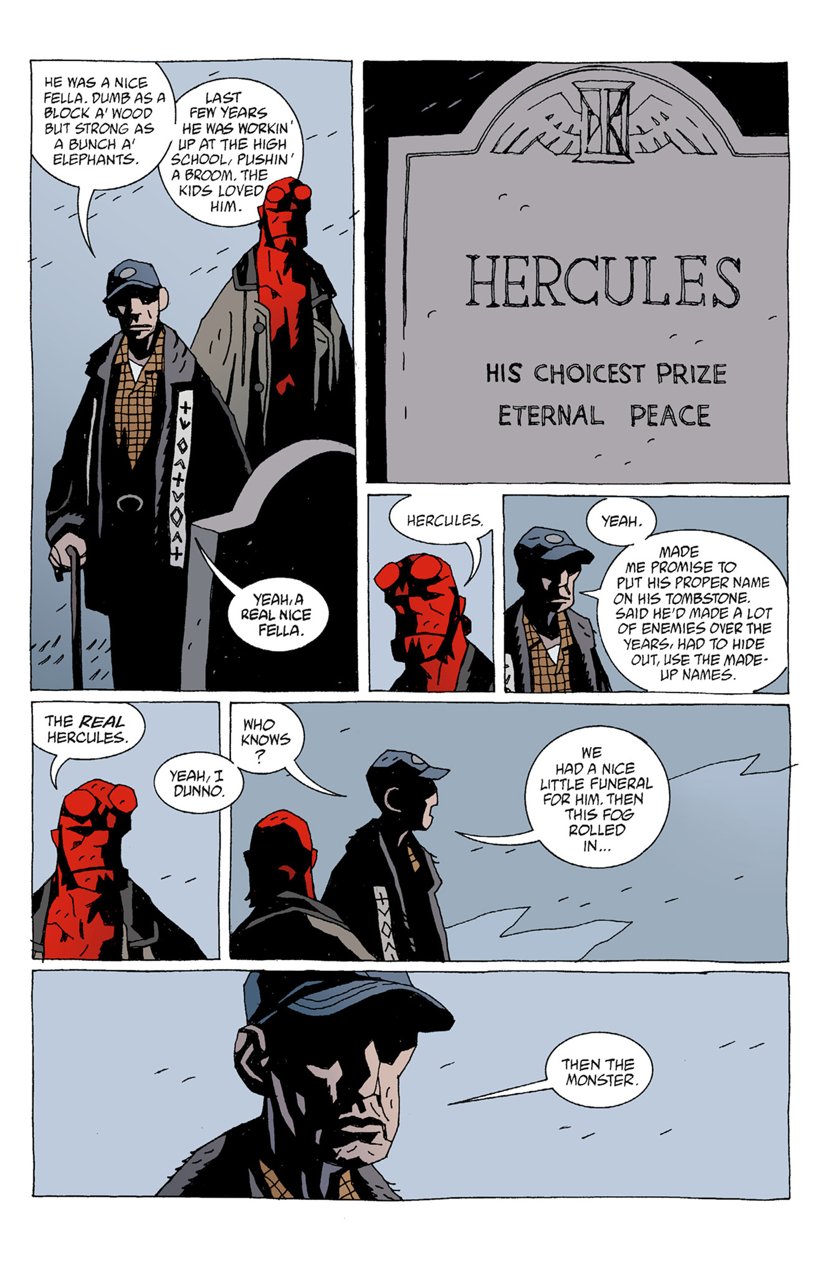 Read online Hellboy: The Troll Witch and Others comic -  Issue # TPB - 17