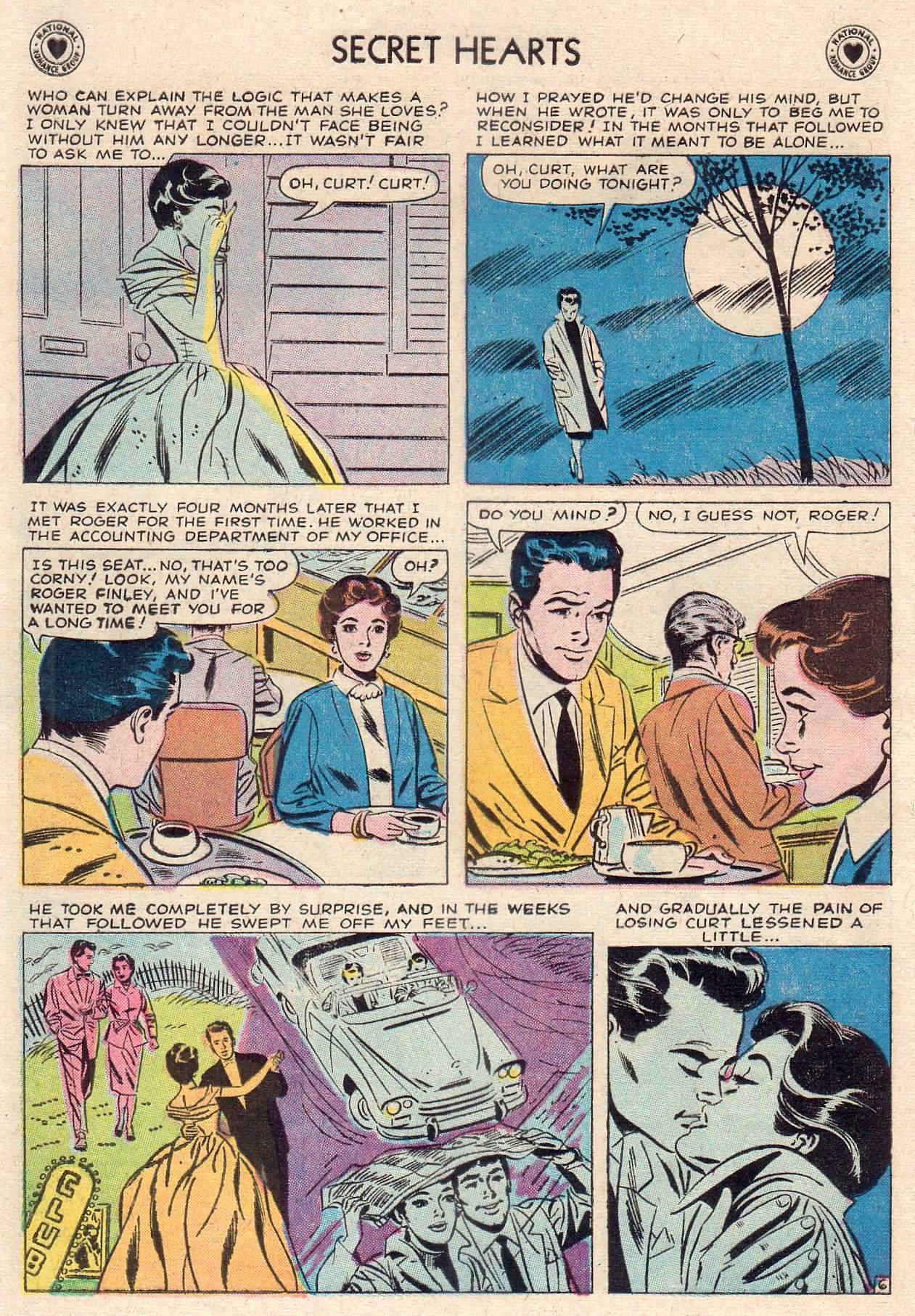 Read online Secret Hearts comic -  Issue #46 - 8