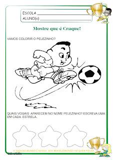 Atividade Copa do Mundo -  Vogais