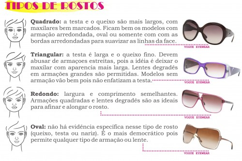 26d8acd74cd0d Escolher um bom óculos de acordo com seu tipo de rosto e seu estilo, é  fundametal. Você não precisa ter uma variedade infinita de óculos dentro da  gaveta, ...