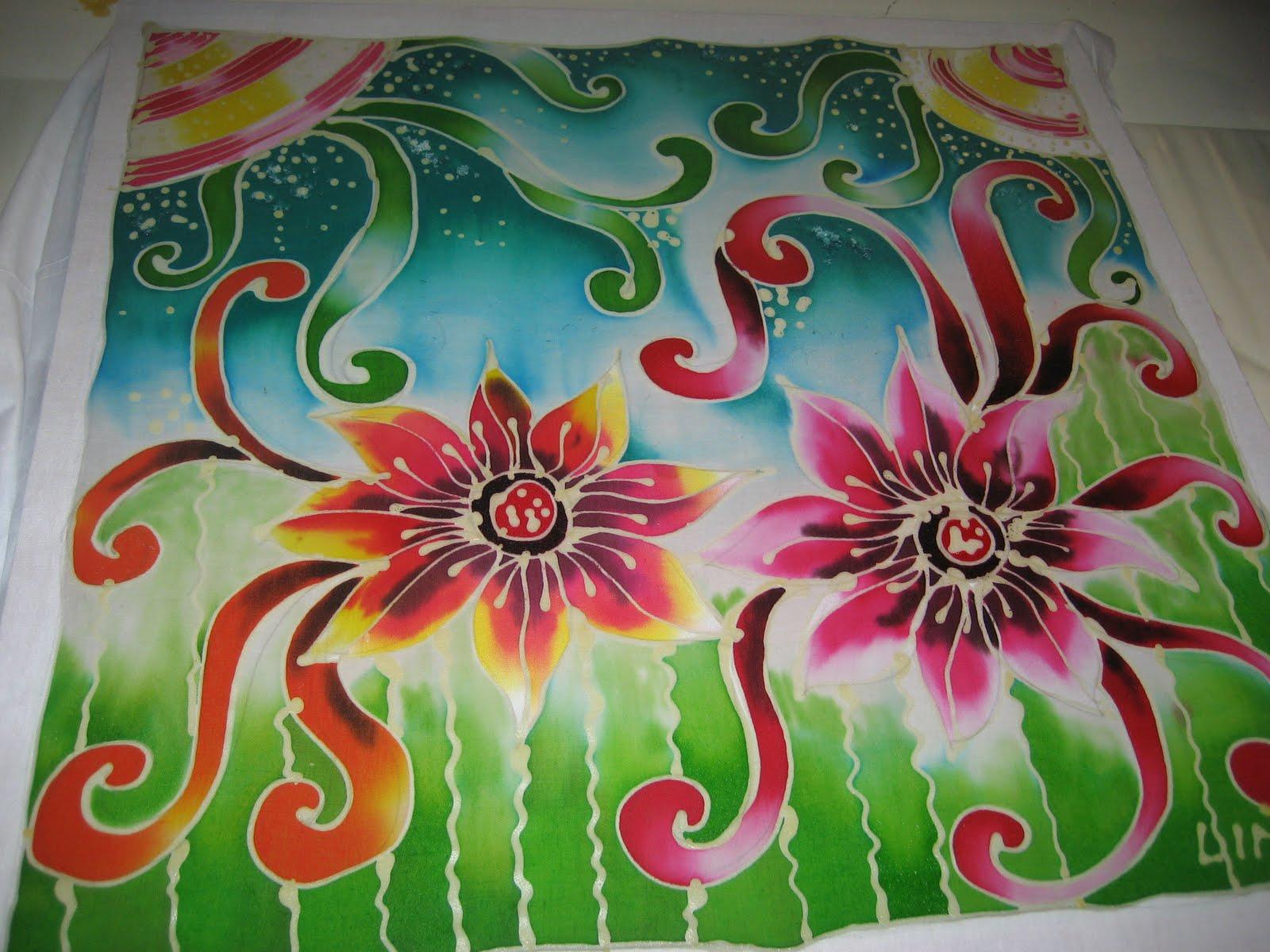 Gambar Batik Flora Slubne Sukniefo