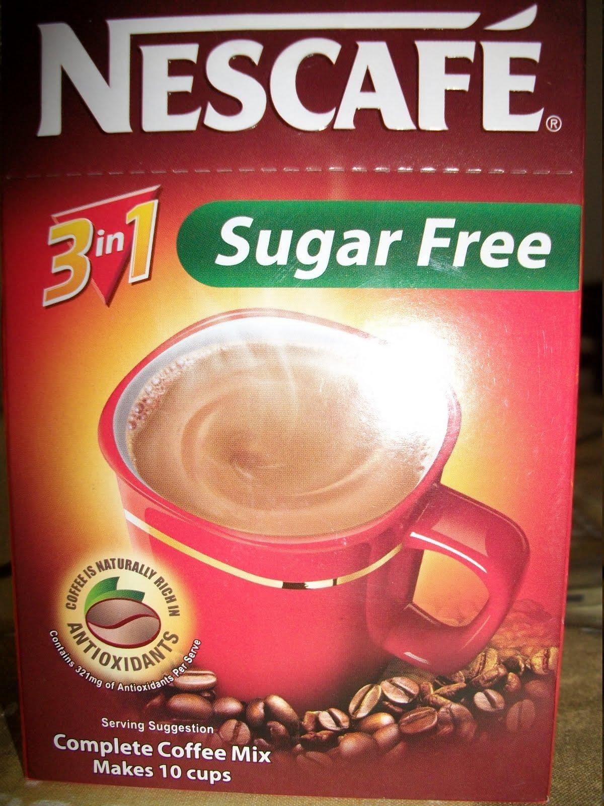 Sugar Free Dress: Low Carb Pinay: Sugar Free 3-in-1 Coffee Review