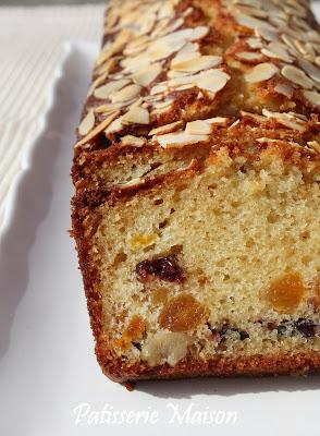 Cake Noix Amandes Chocolat