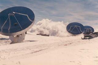 Telescopes in the Alps