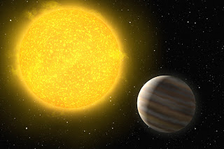 Artist's impression of the new planet