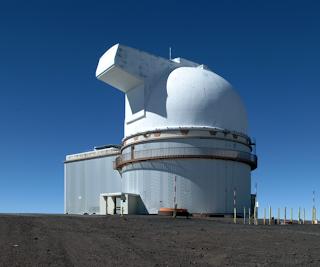 2.2 metre telescope at Mauna Kea