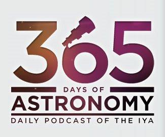365 days of astronomy logo