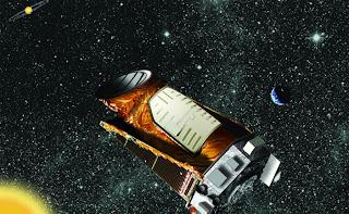 Artist's impression of Kepler in space