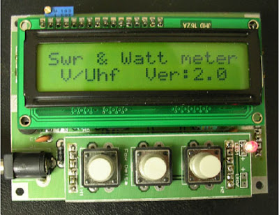 LCD SWR Meter using PIC 16F88