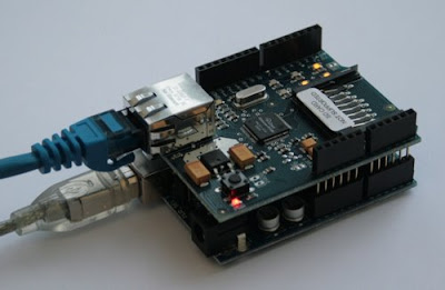 Arduino project Ethernet Shield For Arduino