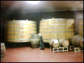 giant kegs of beer at the Samuel Adams Brewery in Jamaica Plain Boston Massachusetts