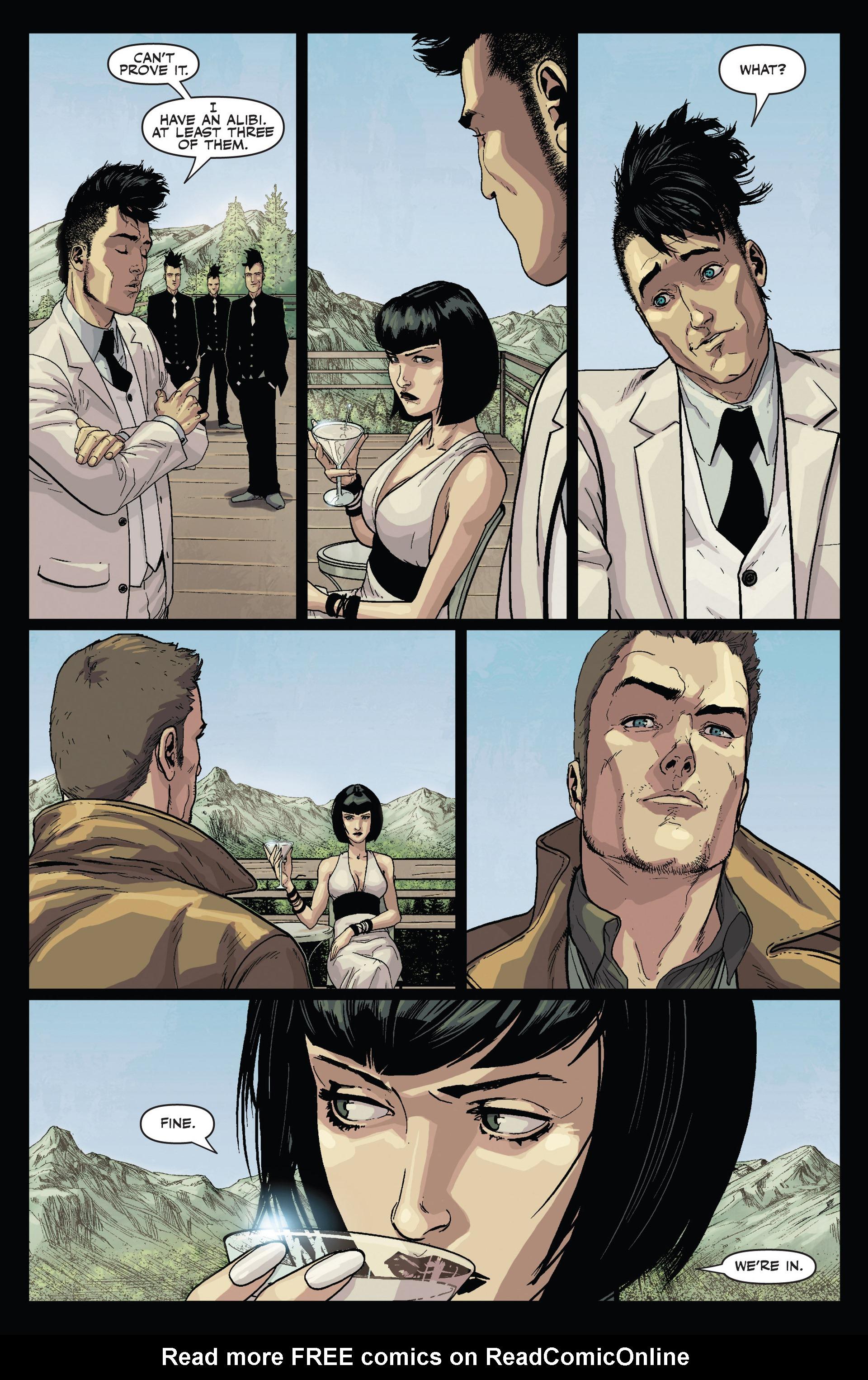 Read online Secret Warriors comic -  Issue #24 - 18