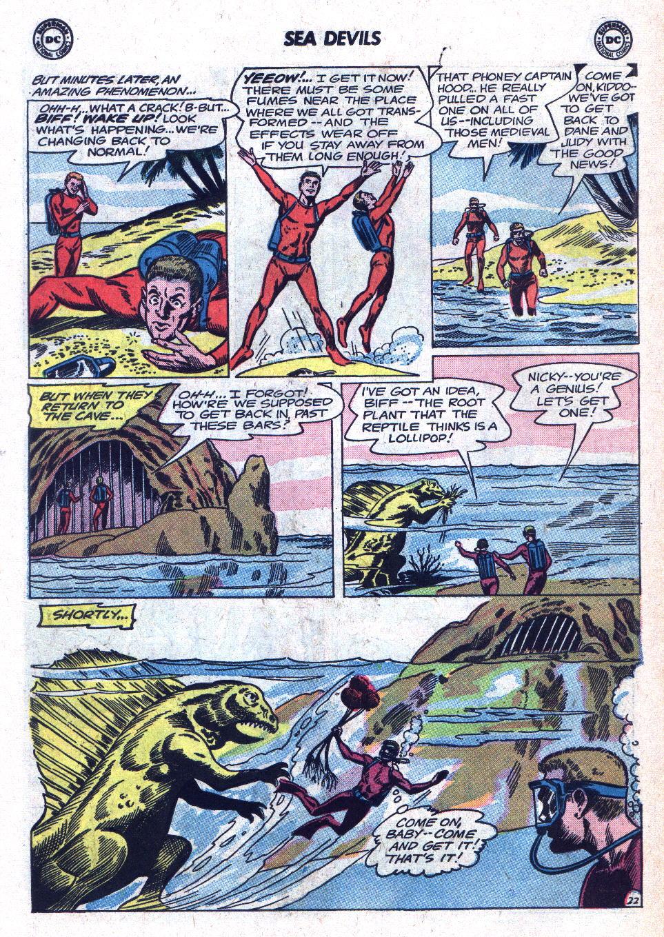 Read online Sea Devils comic -  Issue #18 - 30
