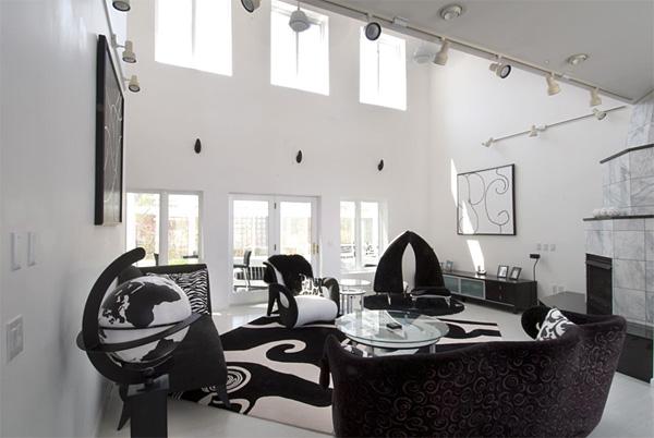 Interior Design Luxury Black And White