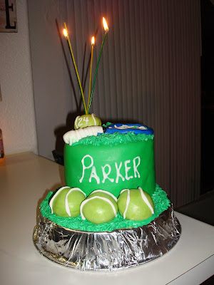 Jesicakes Tennis Cake