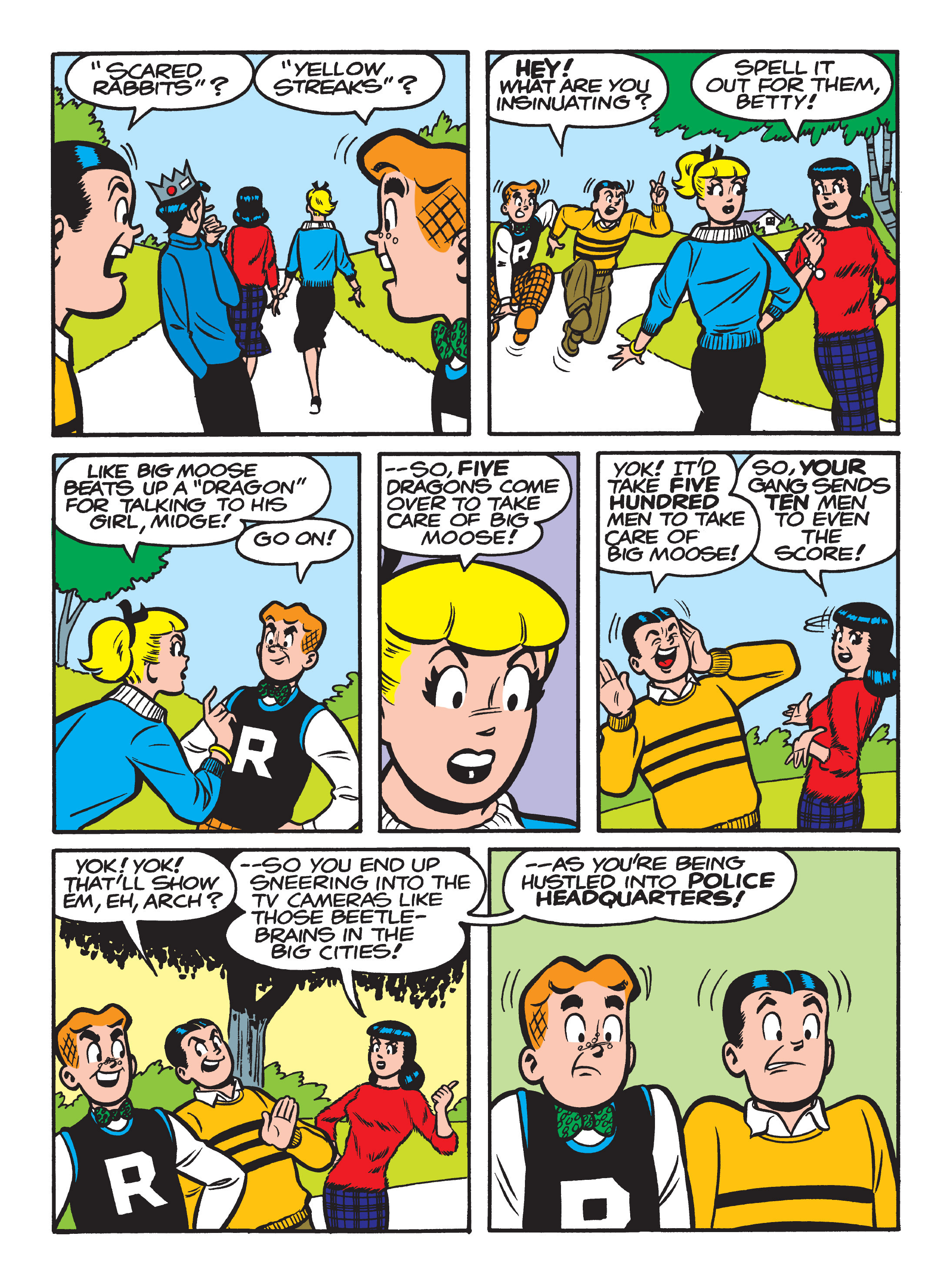 Read online Archie 75th Anniversary Digest comic -  Issue #3 - 86