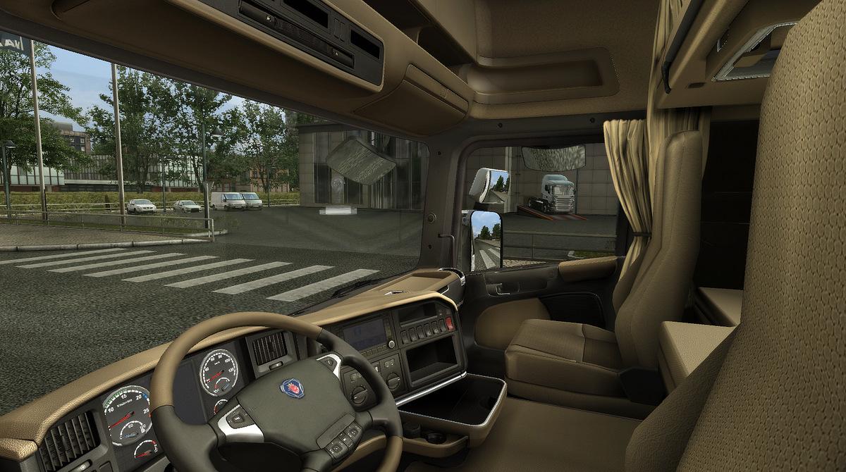SCS Softwares blog New cabin screenshots