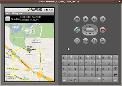 Android-er: Display a marker on MapView, using Overlays