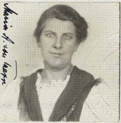 Photograph of Maria von Trapp of the Sound of Music fame, 1944.