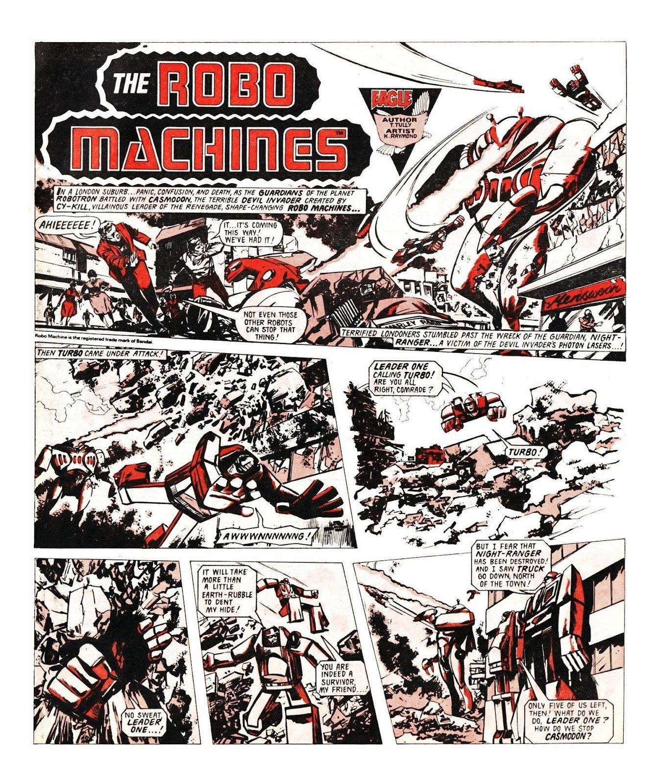 Read online Robo Machines comic -  Issue # TPB - 103