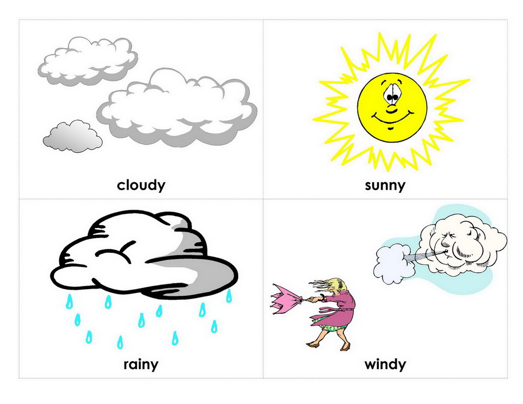 Weather Worksheet: NEW 786 KINDS OF WEATHER PRINTABLE