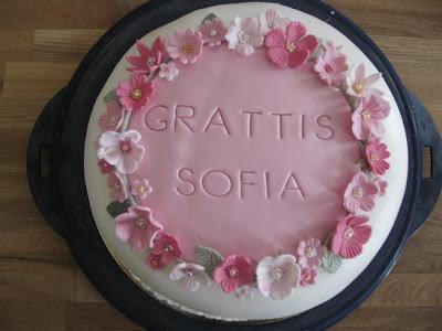 grattis sofia Sockerblomman: Grattis Sofia grattis sofia