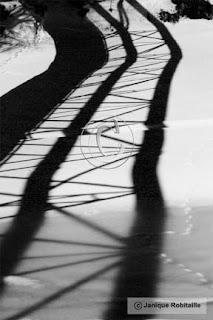 photo artistique abstrait ombre etlumiere noir et blanc