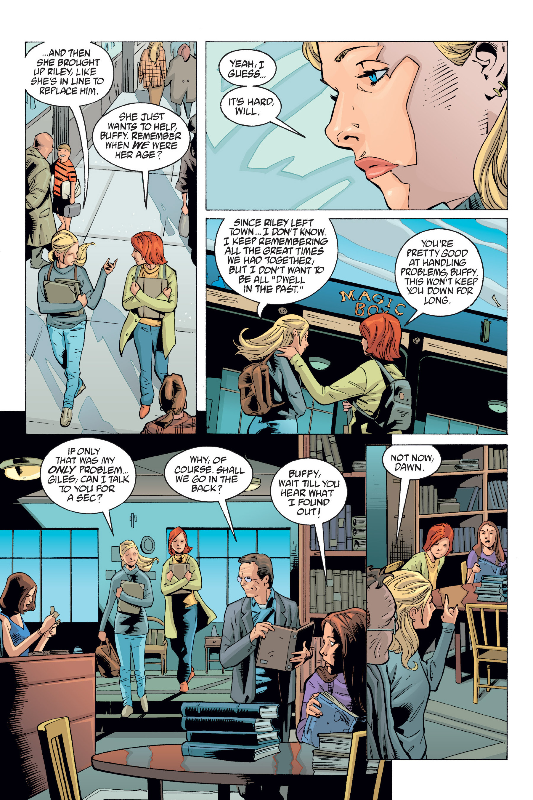Read online Buffy the Vampire Slayer: Omnibus comic -  Issue # TPB 6 - 301
