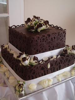 chocolate mousse wedding cakes south africa nelie s decadent cakes dave amp wendy s wedding cake 12732