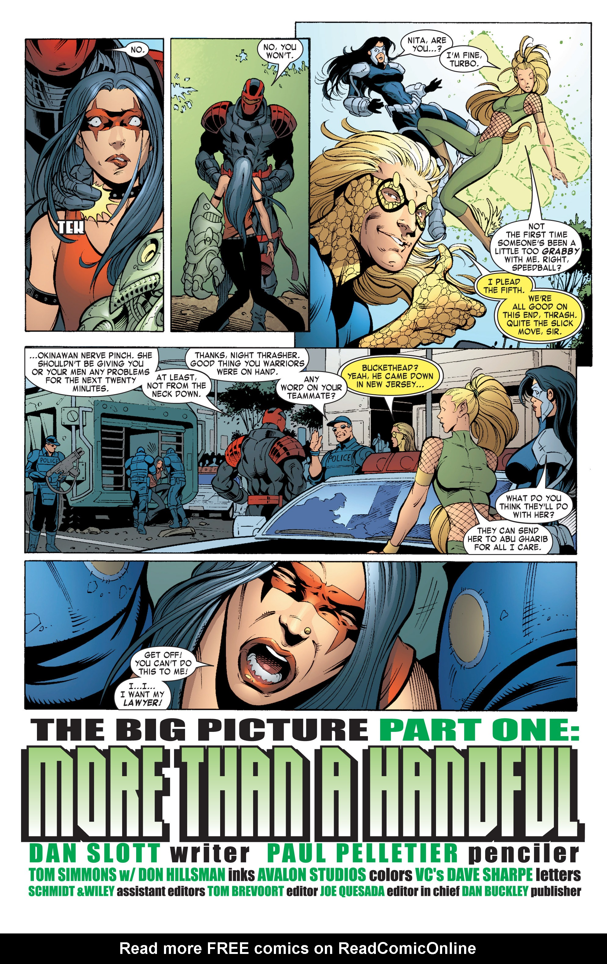 Read online She-Hulk (2004) comic -  Issue #5 - 3
