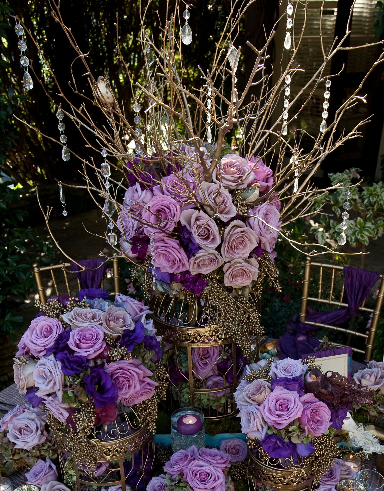 Bride And Bloom Magazine Feature Royal Enchanted Garden