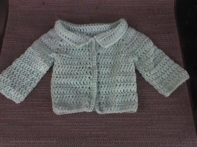 1d8a1f8c2 Deb s Crafts  Amy s Newborn Cardigan Free Crochet Pattern