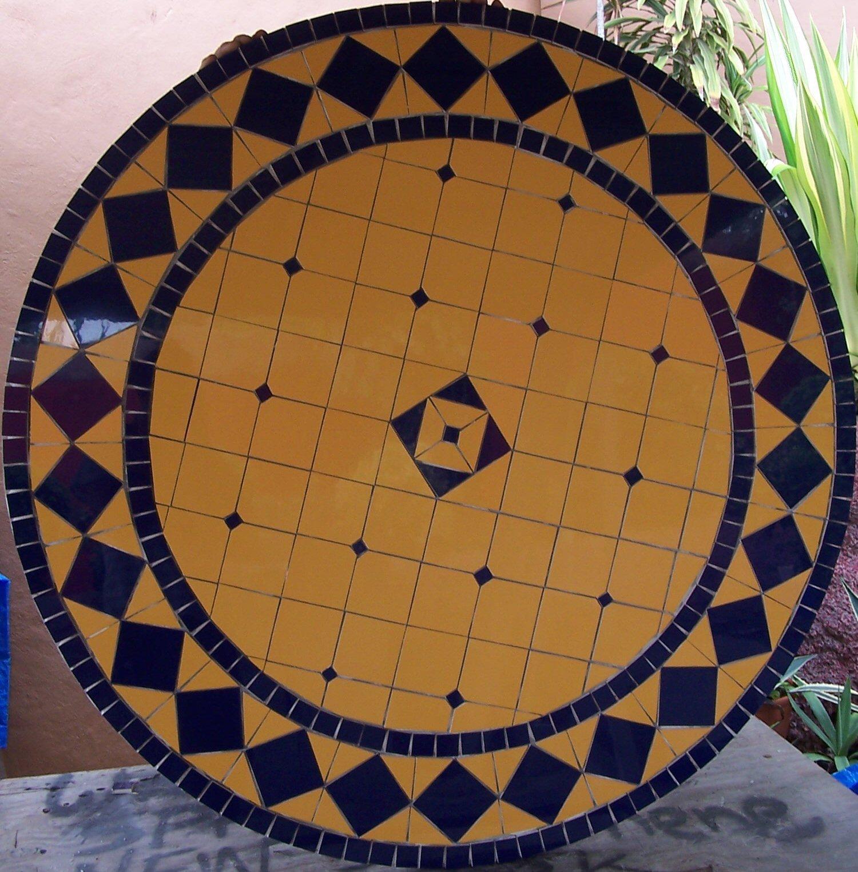 Table Mosaic Patterns: Glass Mosaic Torso: Mosiac Tables