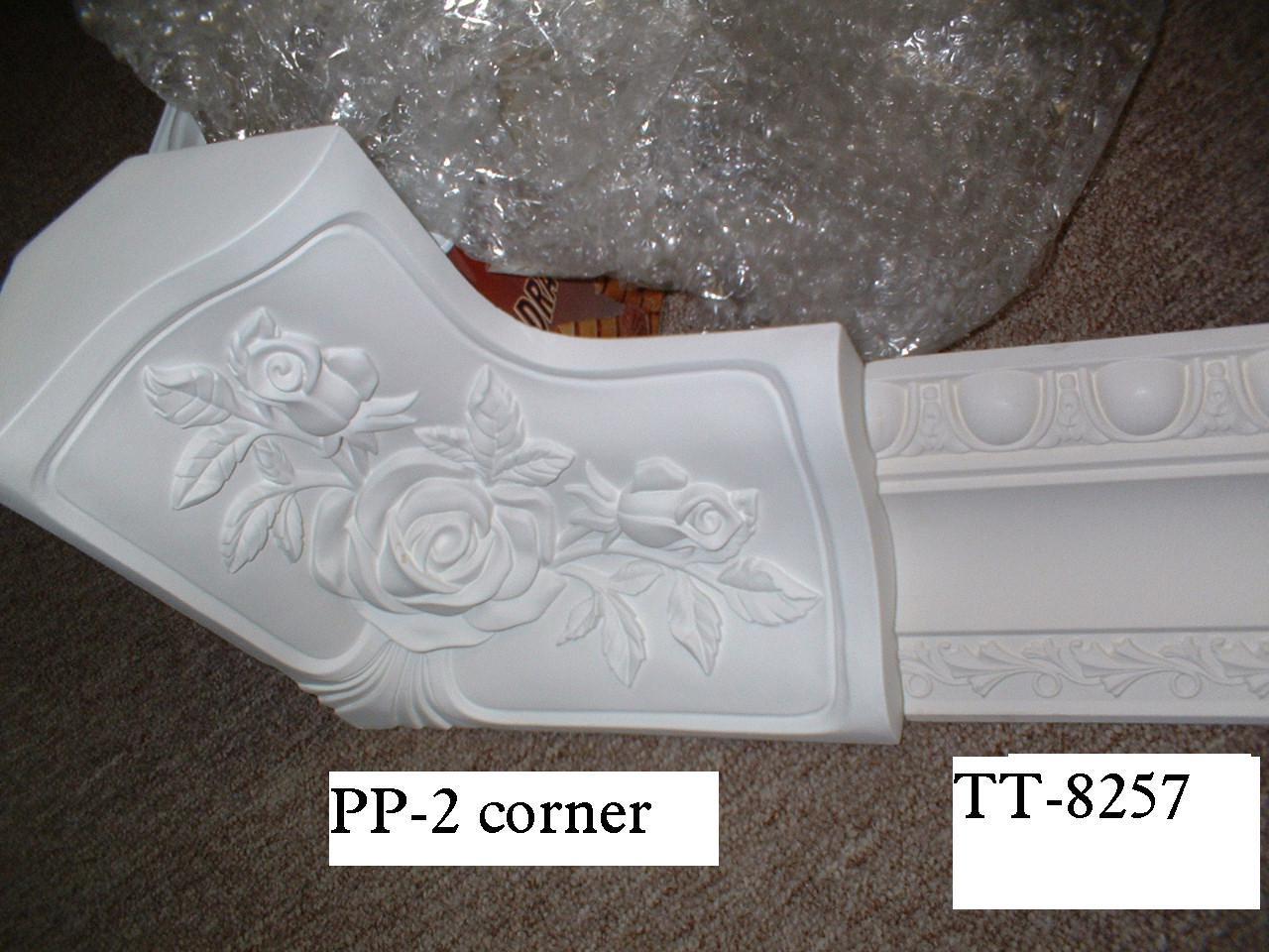 Gypsum Plaster Cornices Mouldings Artistic Ceiling Pu