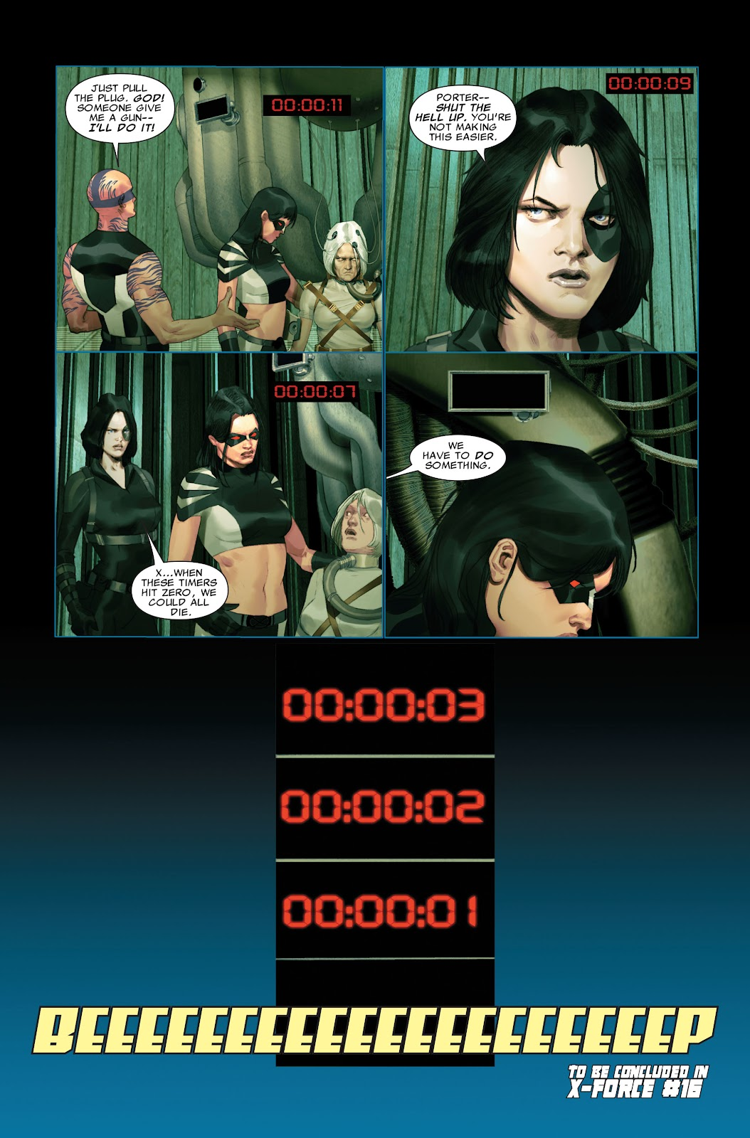 Read online X-Force/Cable: Messiah War comic -  Issue # _TPB (Part 2) - 116