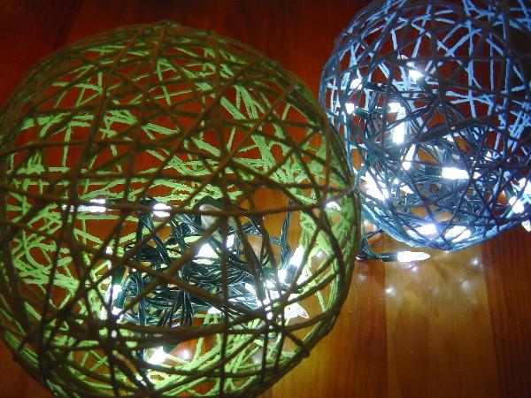DIY String Lanterns, String Lighting