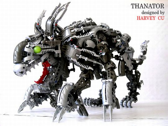 Avatar Thanator Beast Gets Made In LEGO