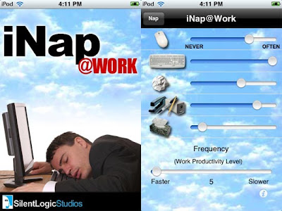 iNap App Lets You Sleep Peacefully At Work
